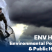 ENV H 305 - Environmental Poisons and Public Health Flyer