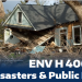 ENV H 406/506 - Disasters and Public Health - Course Flyer