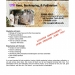 ESRM 491 D Beekeeping Course Flyer