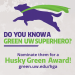 Do you know a green UW superhero?