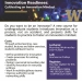 Innovation Readiness - Spring course - Flyer