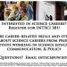 Integrated Sciences Careers Seminar (INTSCI 301)