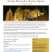 Spanish Leon Spring Term Program Flyer