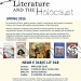 Literature and the holocaust course flyer