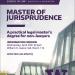 Master of Jurisprudence Flyer