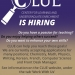 CLUE Positions Flyer