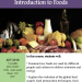 NUTR 141 Introduction to Foods - Flyer