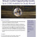 Stroum Center Opportunity Grants Flyer
