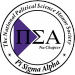 Pi Sigma Alpha Nu Chapter Logo