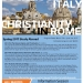 Sociology in Italy: Christianity in Rome - Flyer