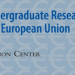 Claremont-UC Undergraduate Conference on the European Union