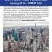 Introduction to Urbanization Course Flyer