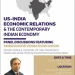 US-India Economic Relations Panel Discussion flyer