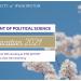 2021 Political Science UW Convocation