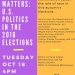 Why Race Matters Event Flyer