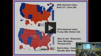 YouTube link to University of Washington Polisci Faculty Panel Post Election